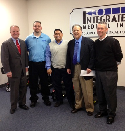 Integrated Medical Staff Hosts Site Visit with Rep. Dave Joyce on March 25